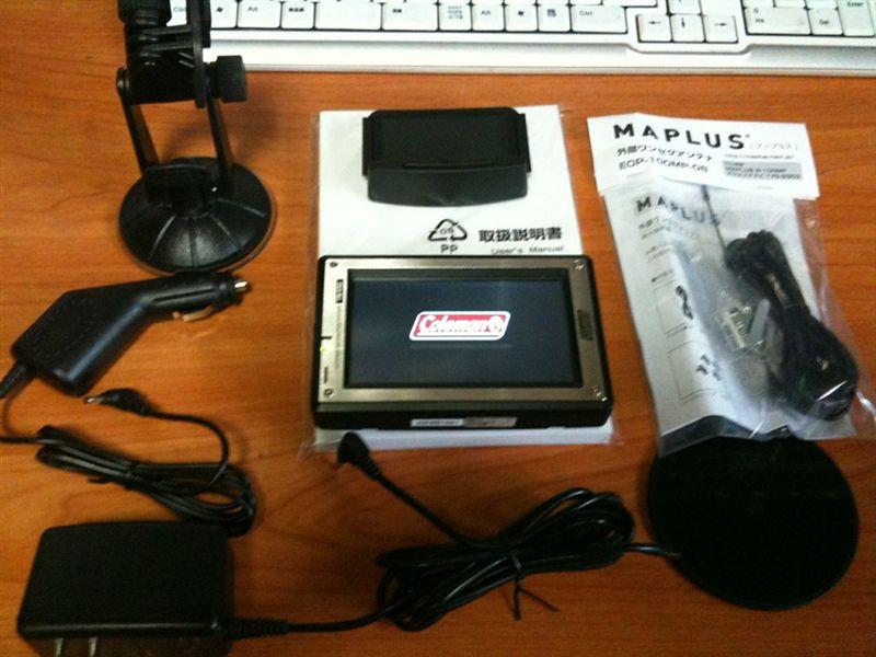 MP3-400FL コールマン OUTDOOR NAVIのカスタム手順2