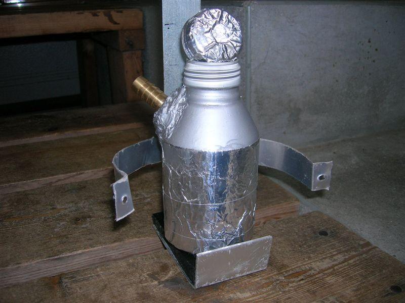 素人が、DIYで空き缶オイルキャッチタンクを作ってみる。(実験w