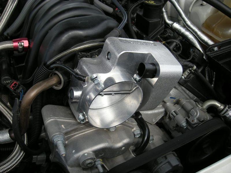 90mm BIG-Throttle装着