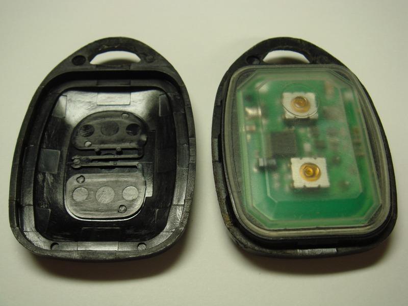 純正キーレス リモコン電池交換①