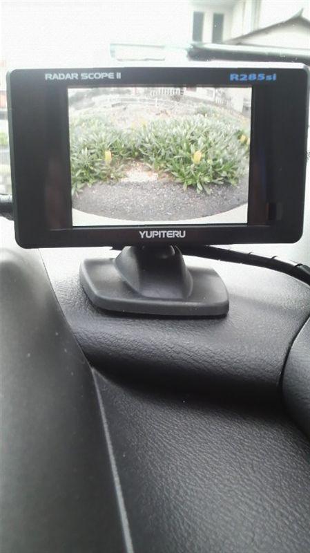 GPS&レーダー探知機 / リアビューカメラ BCR285si