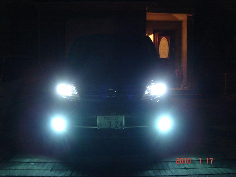 ヘッドライトバーナー交換(6000K)
