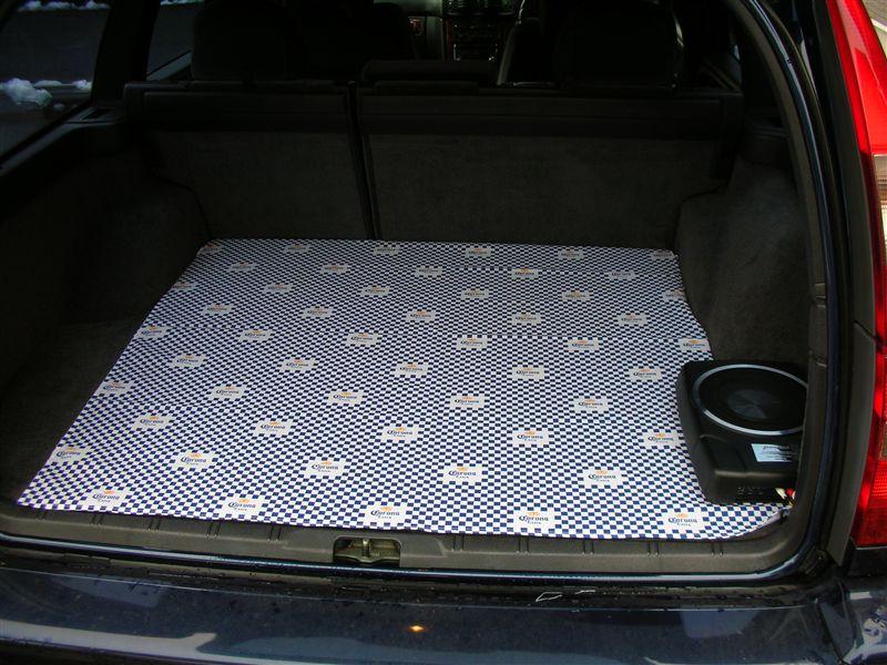 Volvo V70 2000-2008 Rear Bumper Protector