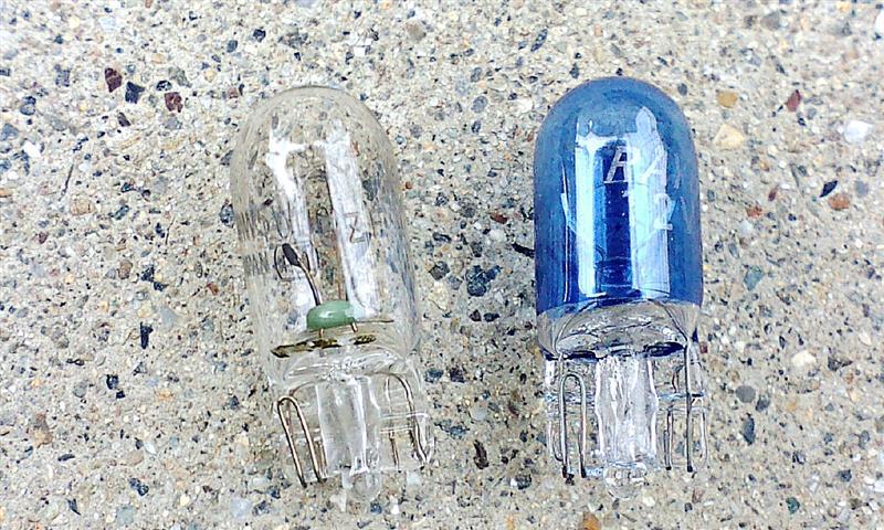 ライセンスランプ バルブの交換 RAYBRIG ハイパーバルブ プラチナホワイト