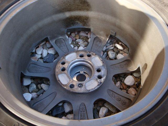 交換した冬タイヤの簡単なメンテナンス