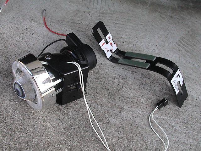 CCFLイカリング付プロジェクターフォグランプ