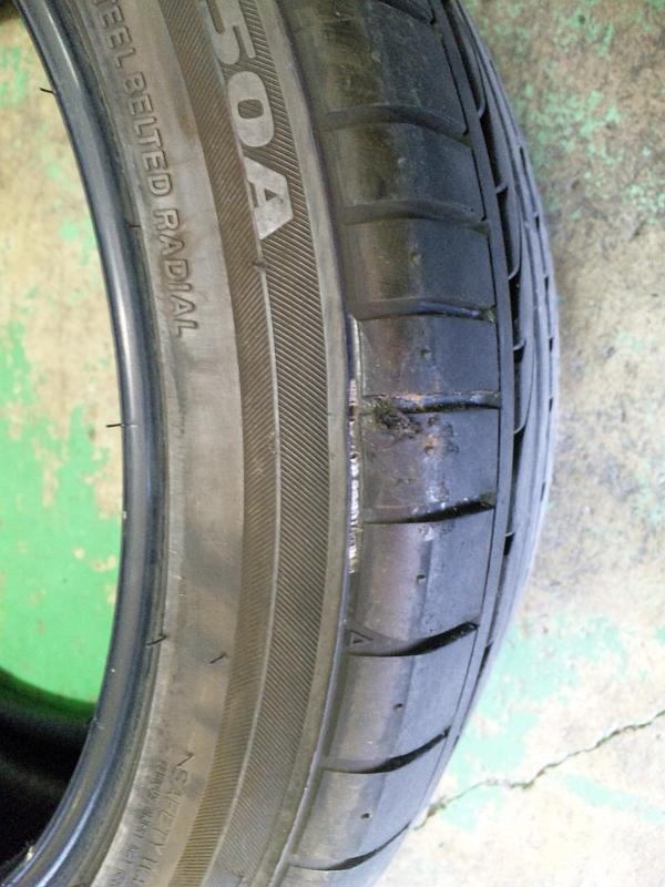 タイヤパンク修理、交換