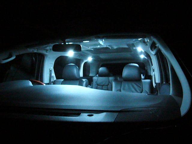 ルームランプ 白LED一式交換