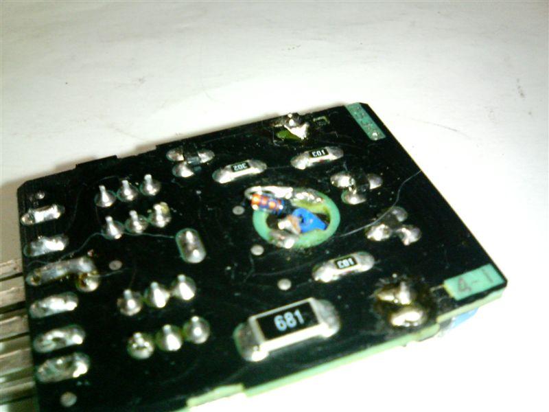 2010/04/09 エアコンパネルLED切れ修理