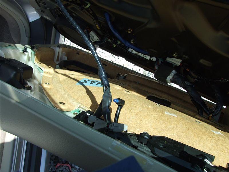 F50シーマ運転席間接照明の電球の交換