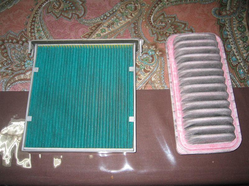 エアフィルター&エアコンフィルター清掃