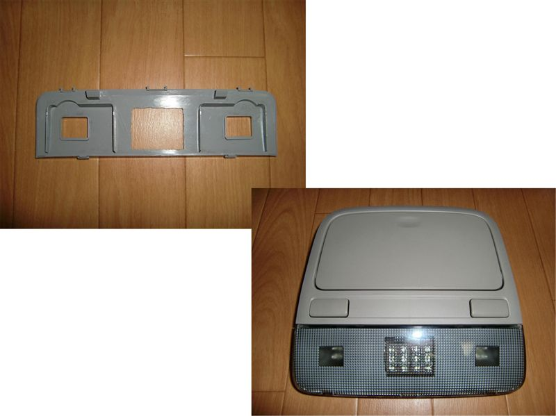 レガシィツーリングワゴン マップランプ/ドア開閉連動化&フロントLEDルームランプ追加 その2のカスタム手順2