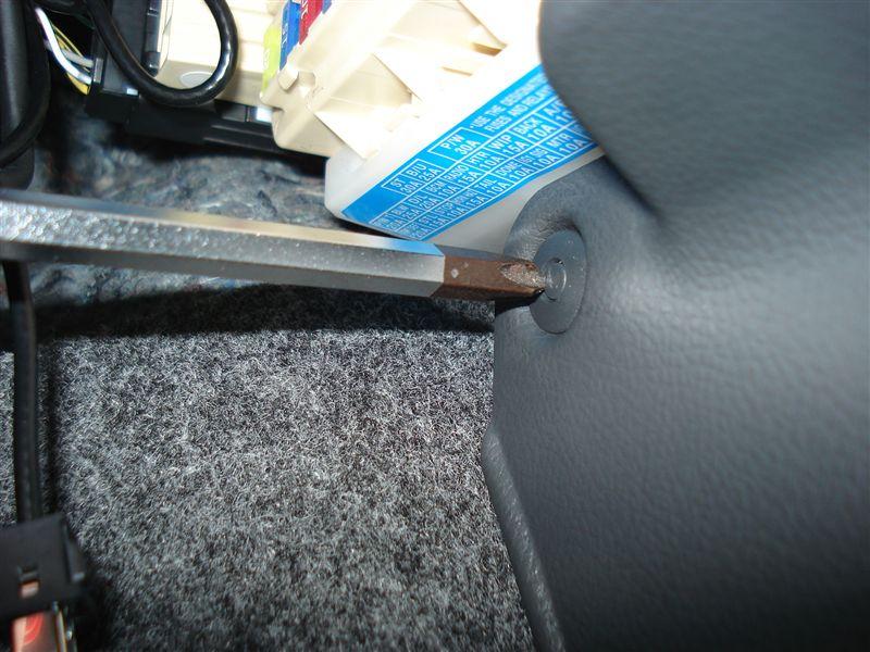 運転席周りパネル取り外し方法