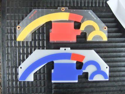 メーターパネル ブルー化