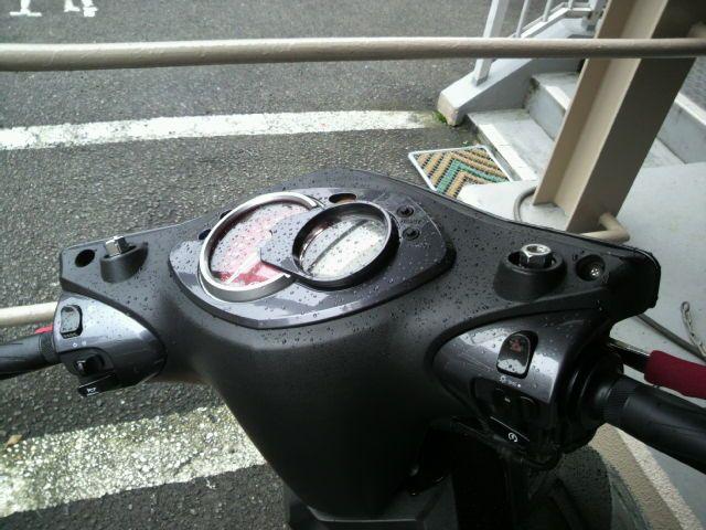 シグナスX FI バイクに、カーナビ取り付け!のカスタム手順1