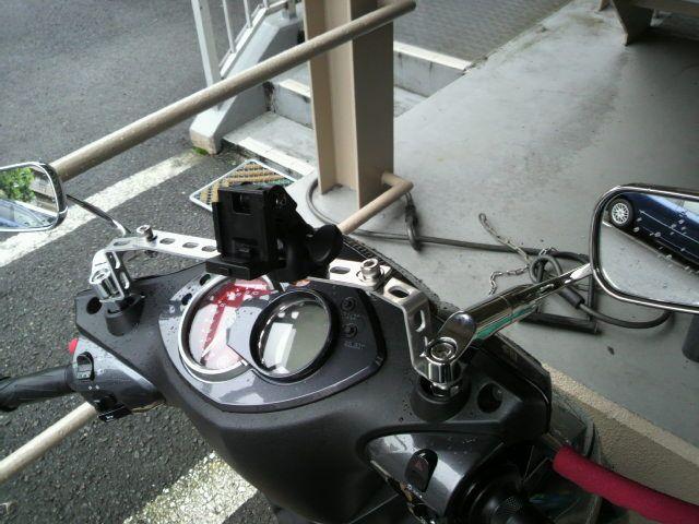 シグナスX FI バイクに、カーナビ取り付け!のカスタム手順2