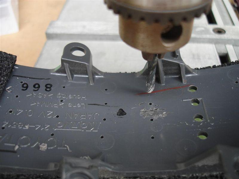 ドアミラーウインカーにLEDを追加してみる。 その1