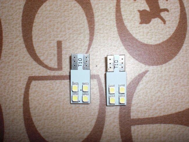 亀石屋 ナンバー灯 T10-4横-白