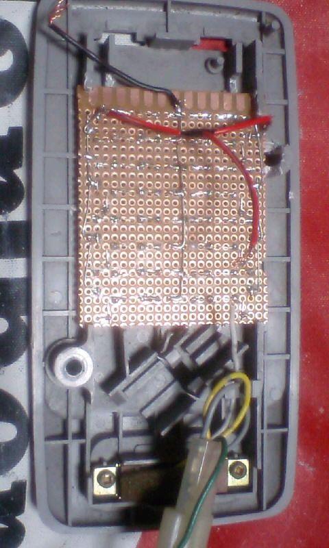 インプレッサ WRX STI ルームランプとマップランプのLED化のカスタム手順2