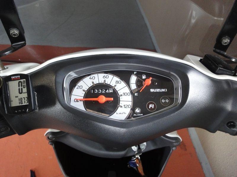 アドレスV125G ブレーキパッド交換