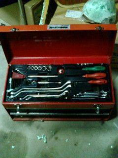 工具箱の修理