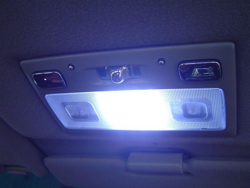 リアパーソナルランプ 点灯パターン変更