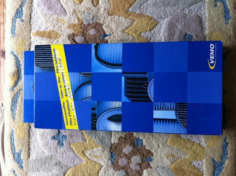 B7スーパーチャージ マイクロフィルター交換のカスタム手順1