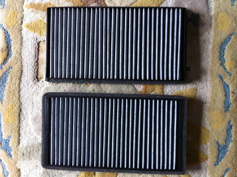 B7スーパーチャージ マイクロフィルター交換のカスタム手順2