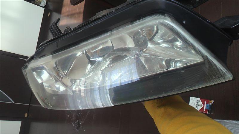 ヘッドライトクリスタル加工