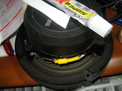 T650修理の修理