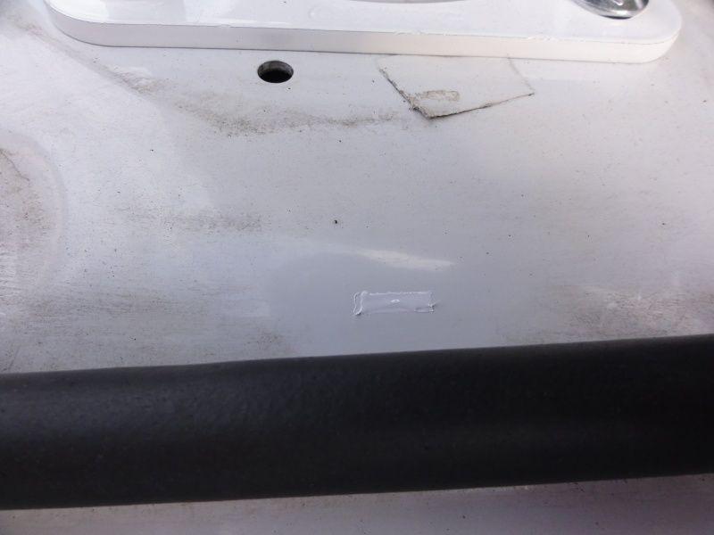 フロントタワーバー塗装補修