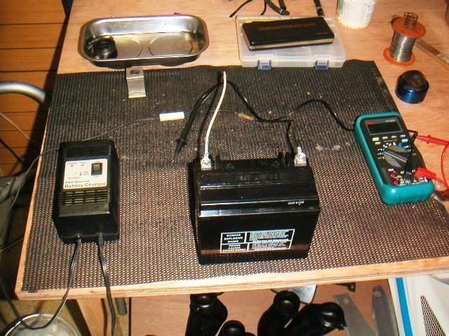 GSX-R バッテリー交換