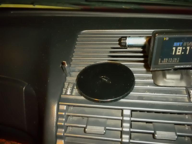 145 ポータブルナビを取り付け TRYWIN DTN-X610 のカスタム手順2