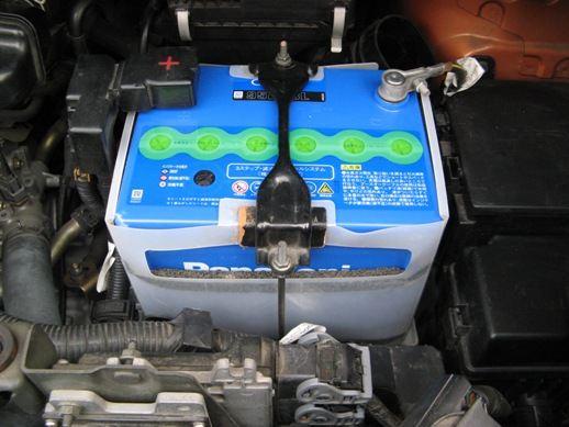 ブルーバッテリーCAOS(C4)【95D23L】に交換