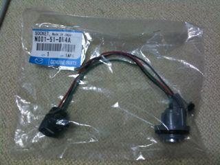 LEDテープでのポジションランプの追加