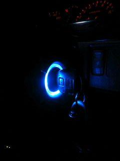 キーシリンダー照明 DIY