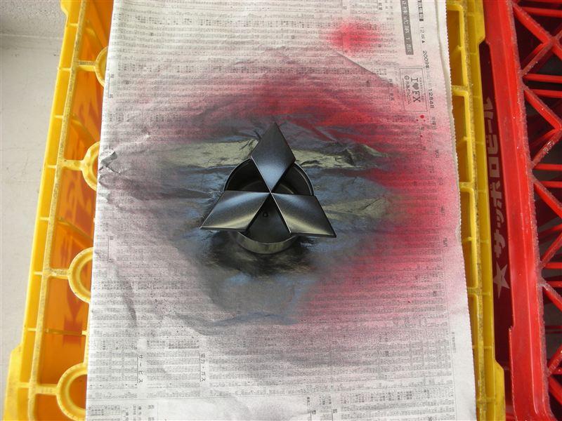 三菱マーク塗装