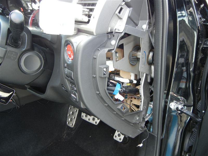フットライトLEDコントロールユニット2取付