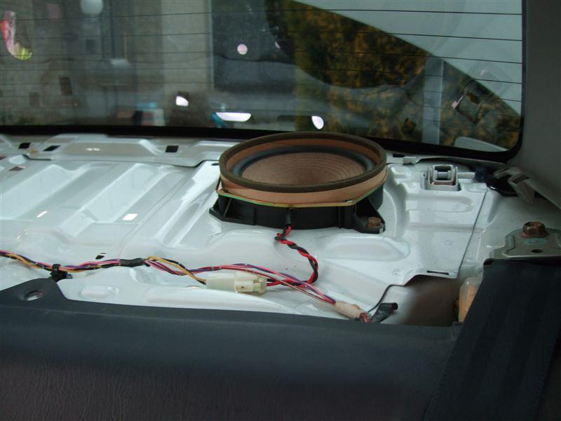 AE111 カローラ リアスピーカー交換