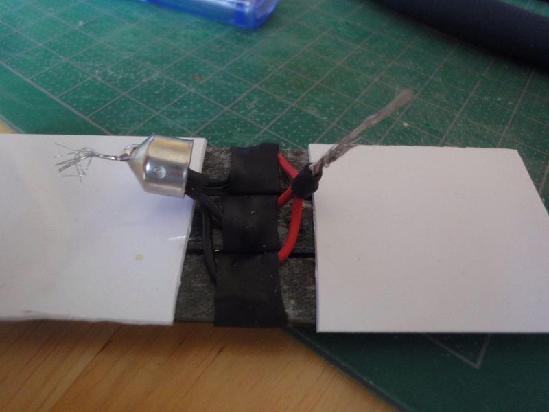 【LEDテープ】お手軽ルームランプ作製2