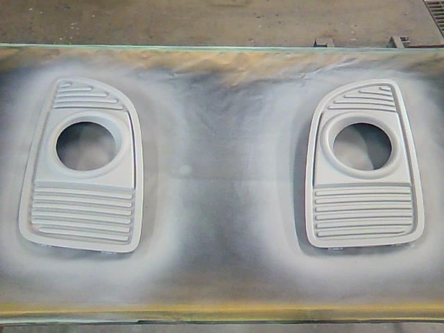 AZワゴン フォグべゼルの塗装