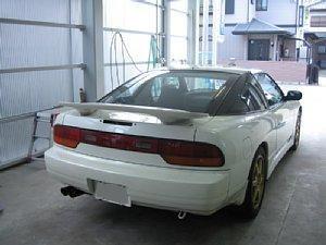 180SX ウイング加工 愛知県豊田市 倉地塗装 KRC