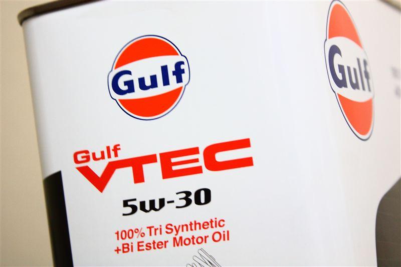 オイル・フィルター交換 Gulf VTEC /// 23627km