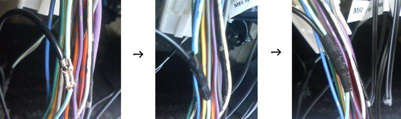 車速感応ドアロックユニットVer.3の取付