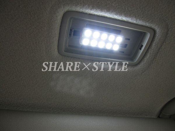 【シェアスタイル】70系ノア・ヴォクシー LEDルームランプ取付 【バニティランプ】