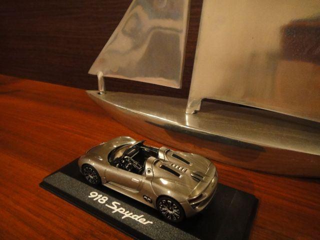 ボクスターRS60スパイダーのプラグ・ブレーキパッド・タイヤ状態チェック♪