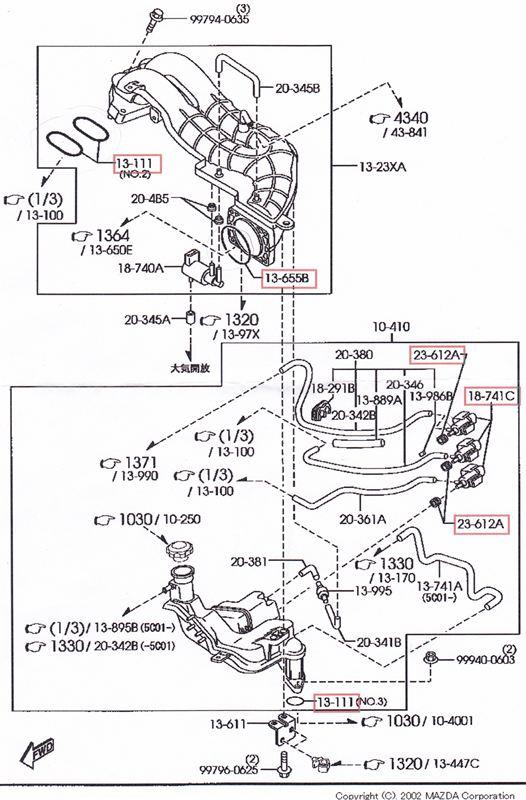 エラーコード P2259 2次エアー噴射ソレノイドバルブ故障