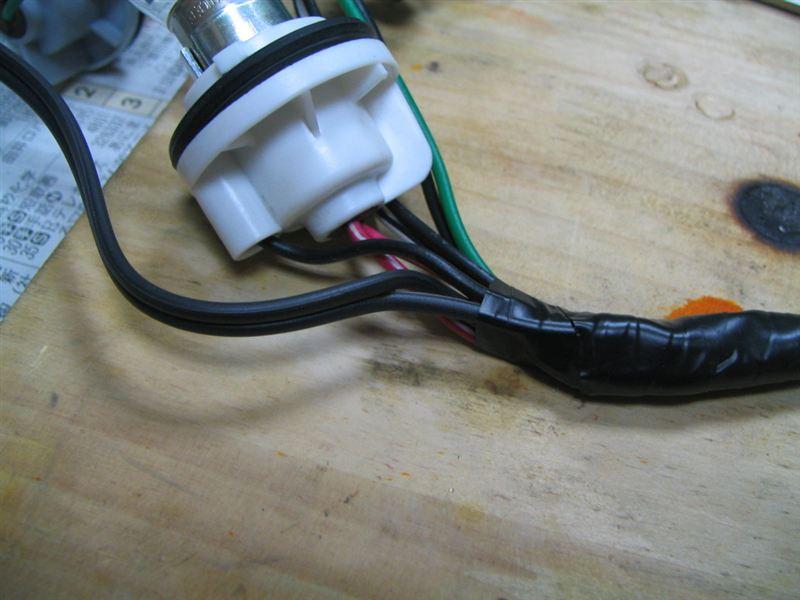 テールランプの簡易改造...パクリネタ