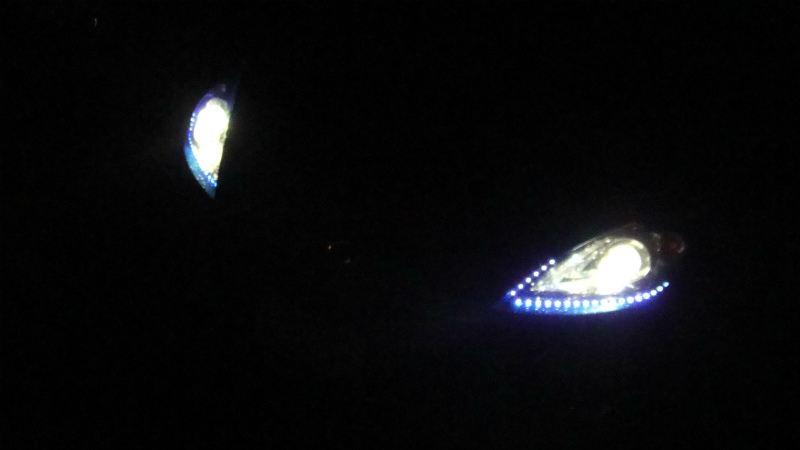 ヘッドライトイルミネーション