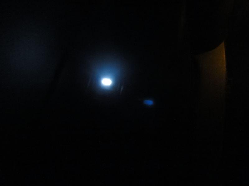 車内LED白化完了